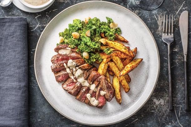 Premium Fillet Steak & Peppercorn Sauce