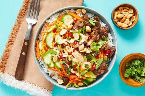 Quick meals - Sizzlin' Saigon Steak Bowls
