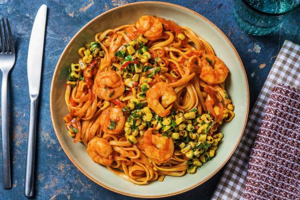 Low Calorie Meals - Smoky Prawn Spaghetti