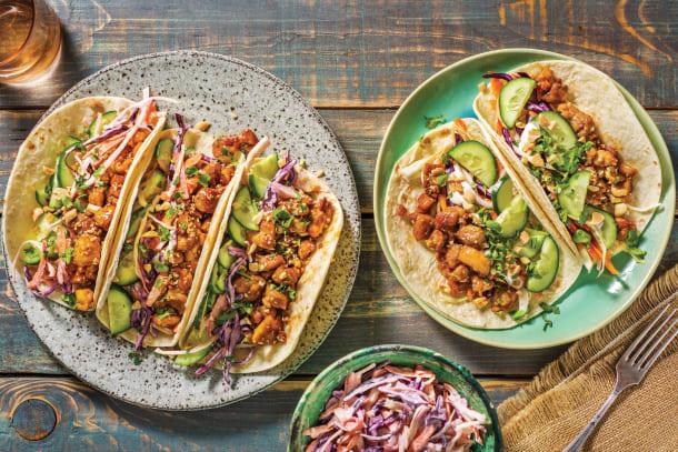 Speedy Asian Chicken Tacos