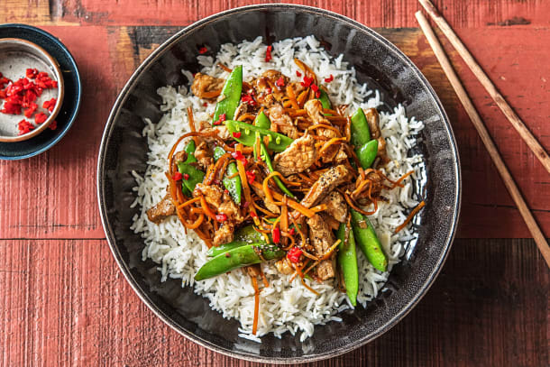 Speedy Pork Stir-Fry