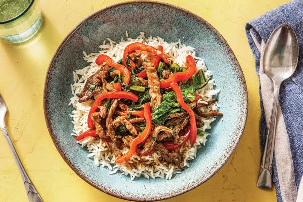 Speedy Thai Seven-Spice Beef Stir-Fry