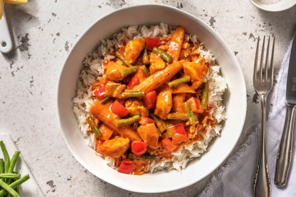 Speedy Zanzibar Chicken Curry