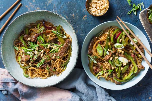 Quick Meals - Spicy Beef Stir-Fry