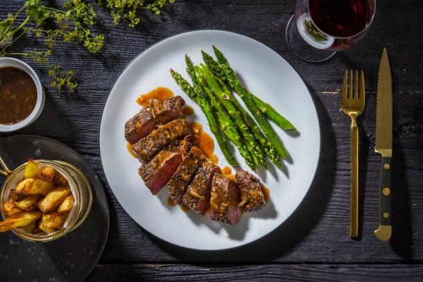 21-Day Aged Steak Au Poivre