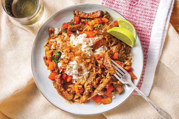 Sichuan Beef Stir-Fry
