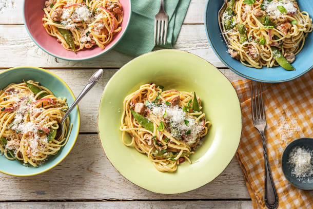Summer Chicken Linguine