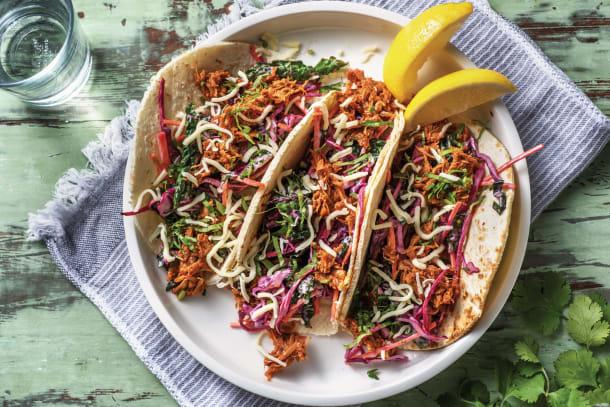 Super Speedy Pulled Pork Tacos