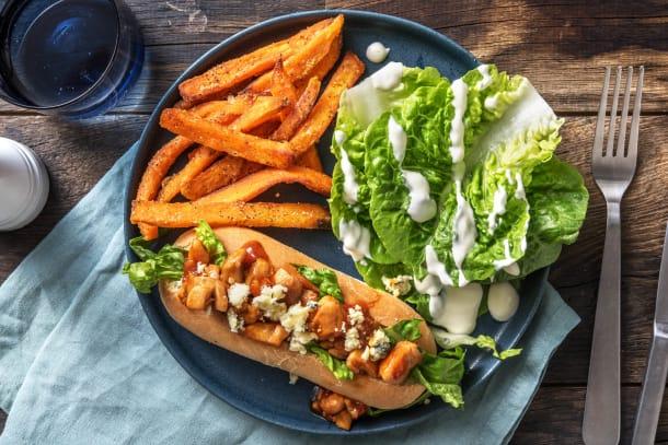 Low Calorie Meals - Superbowl Chicken Sarnie