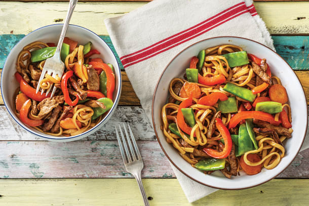 Low Calorie Meals - Sweet Chilli Beef Stir-Fry