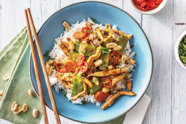 Chinese Sweet Chilli & Hoisin Pork Stir-Fry