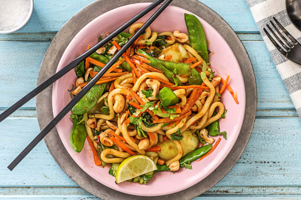 Sweet Chilli Udon Noodles