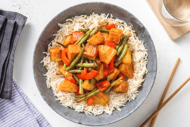 Quick Meals - Sweet & Sour Tofu