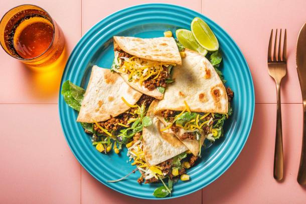 Schnelle Gerichte - Tacos mit Hackfleisch