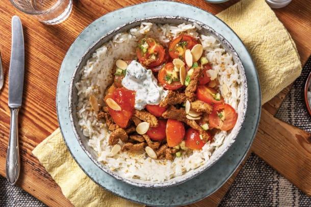 Beef Tandoori Bowl