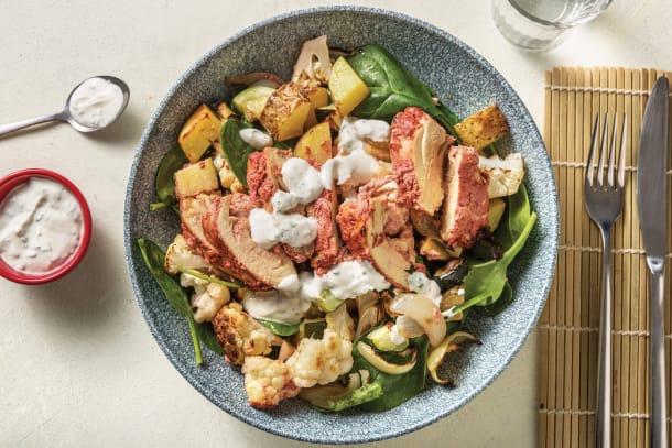 Tandoori Chicken & Cauliflower Traybake
