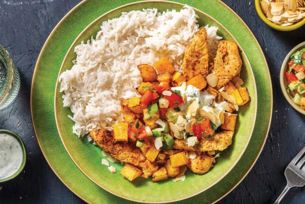 Tandoori Spiced Chicken Tenders
