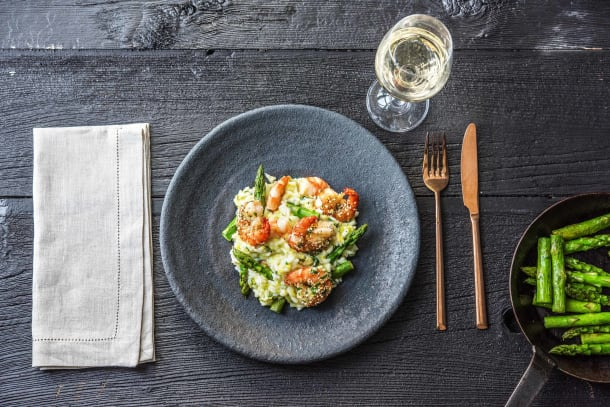 Tempting Tiger Prawn Risotto