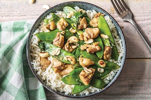 Teriyaki Chicken & Coconut Rice