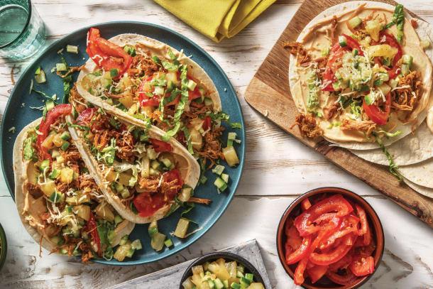 Tex-Mex Pulled Pork Tacos