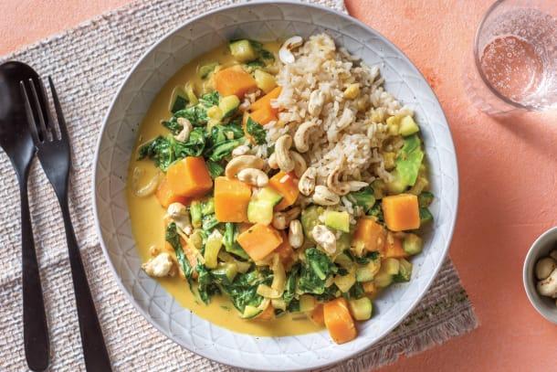 Thai Pumpkin & Veggie Curry
