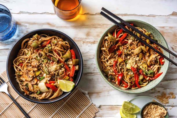 Thai-Inspired Veggie Noodle Stir Fry