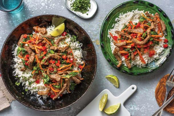 Thai-Style Beef Stir-Fry