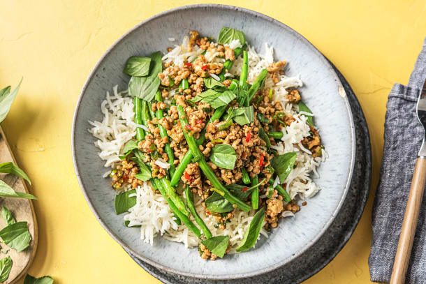 Thai Style Pork Stir-Fry