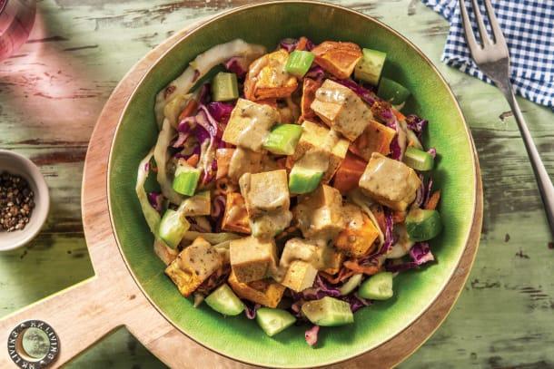 Thai-Style Tofu Buddha Bowl