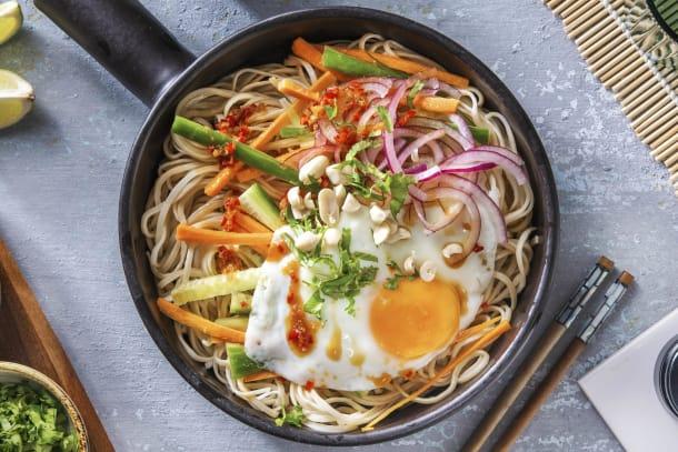 Hälsosamma Recept - Thai-inspirerad nudelsallad