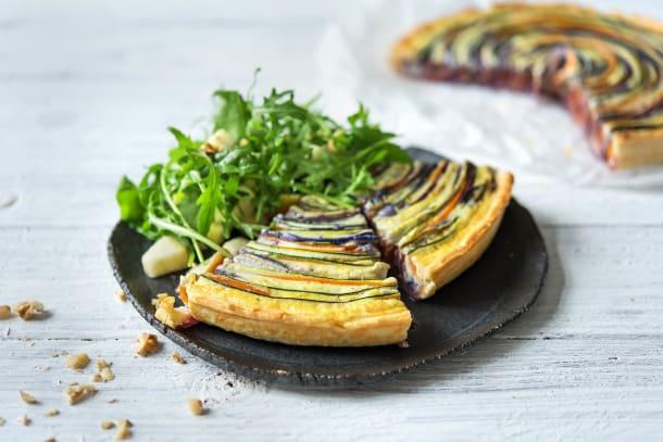 Bunte Gemüse-Tarte