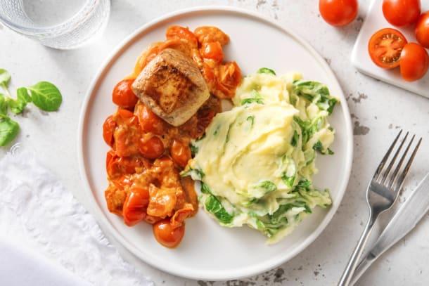 Snelle gerechten - Varkenshaasmedaillon met veldslastamppot