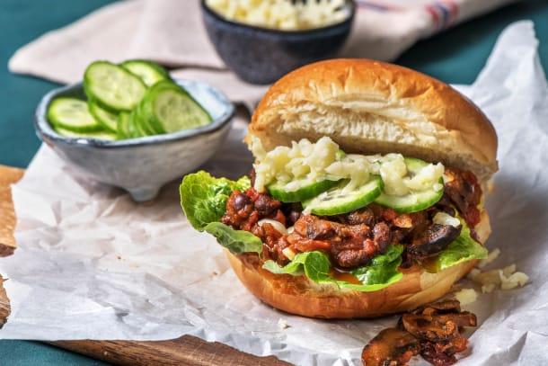 Hälsosamma Recept - Vegetarisk Sloppy Joe