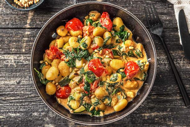 Vegetarian Recipes - Veggie Loaded Gnocchi