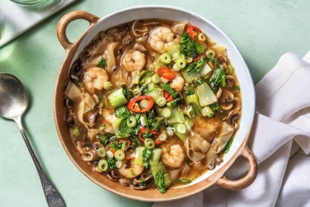 Wonton Shrimp Noodle Soup