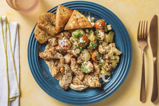 Quick Dinner Ideas - Za'atar Turkey Mezze Platter