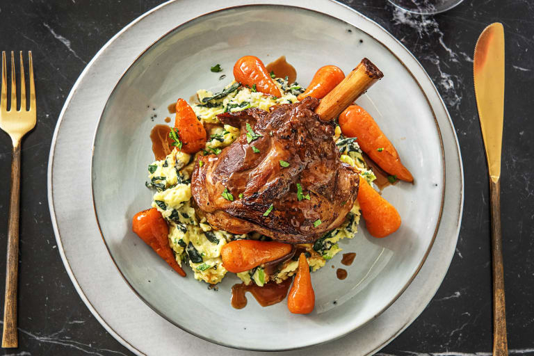 Glazed Lamb Shank