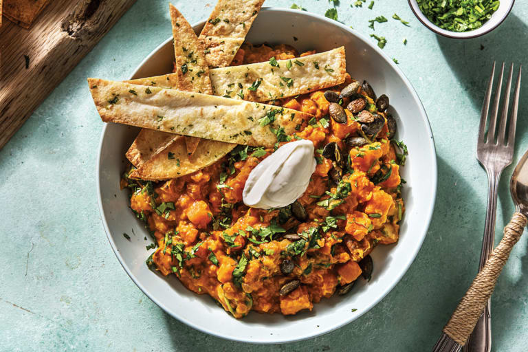 Indian Sweet Potato & Coconut Dhal