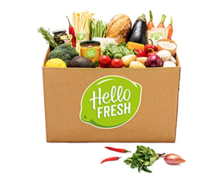 HelloFresh Veggie Kochbox für 2 Personen