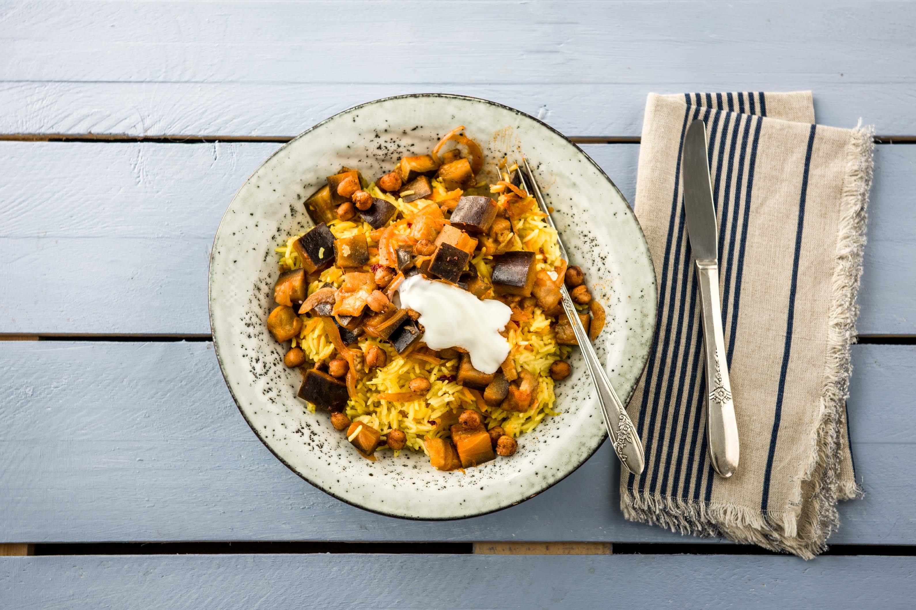1000 und 1 Nacht Berberitzen-Mandel-Reis