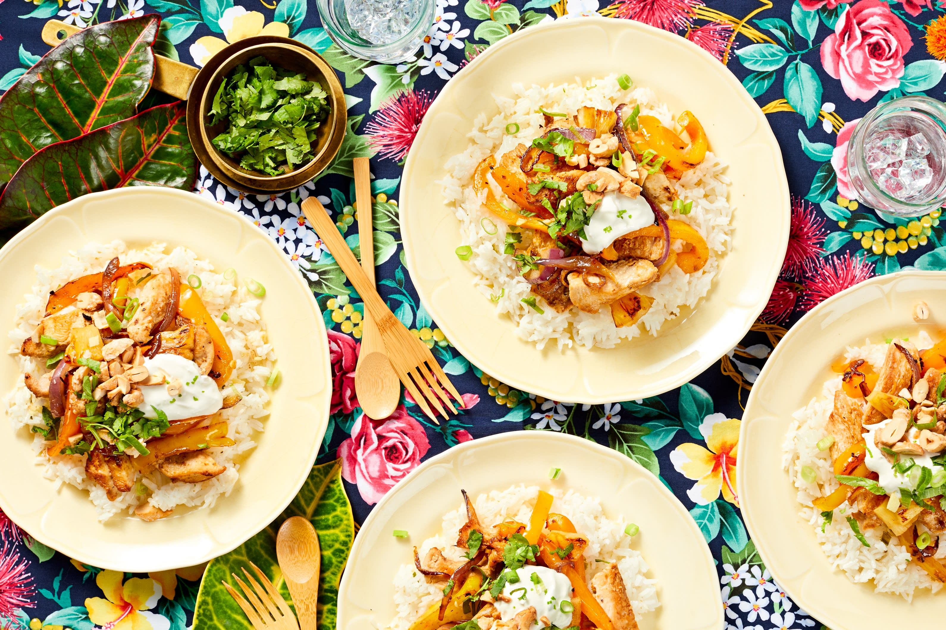 Tropical Pineapple Chicken