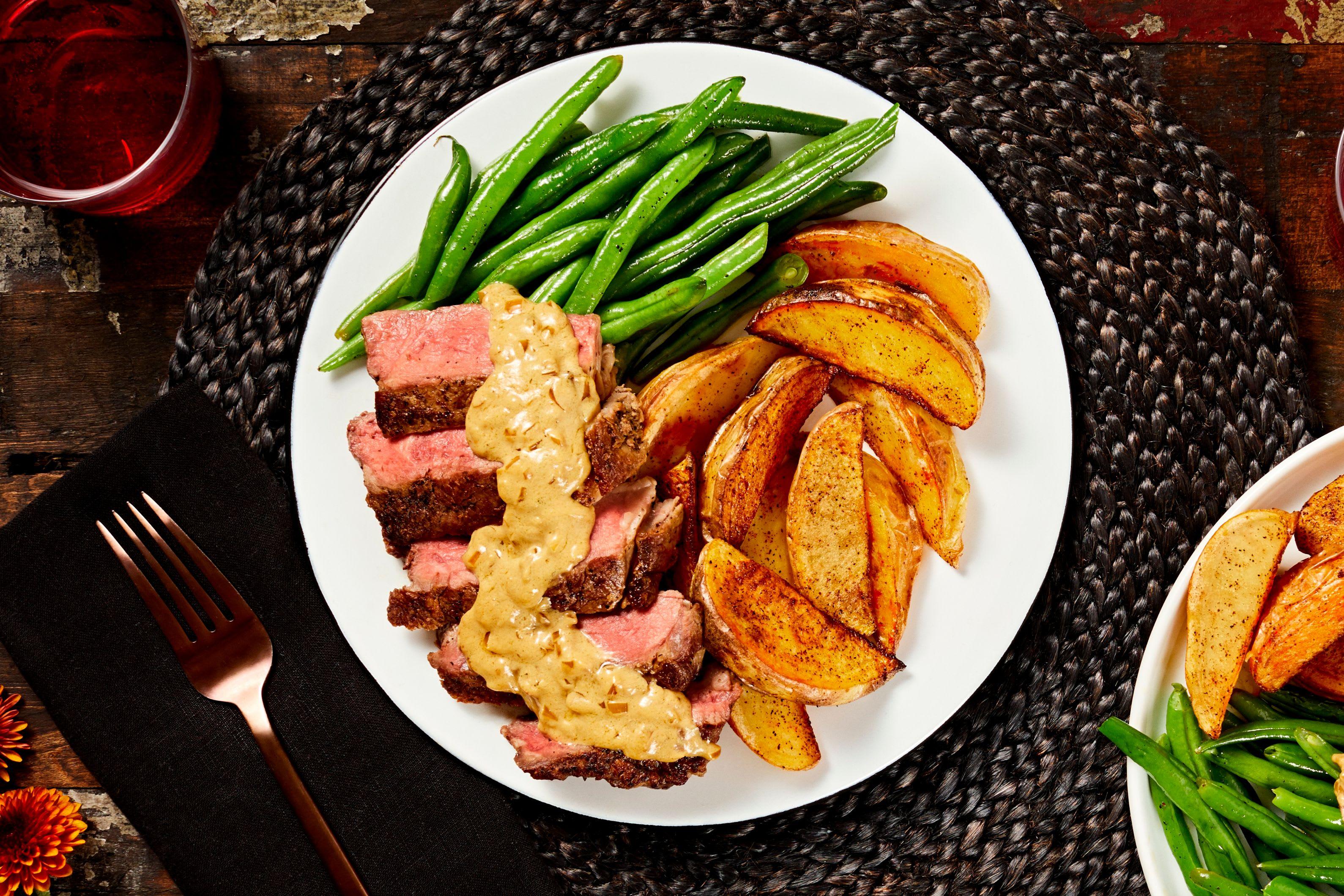 Truffle Rib-Eye Steak