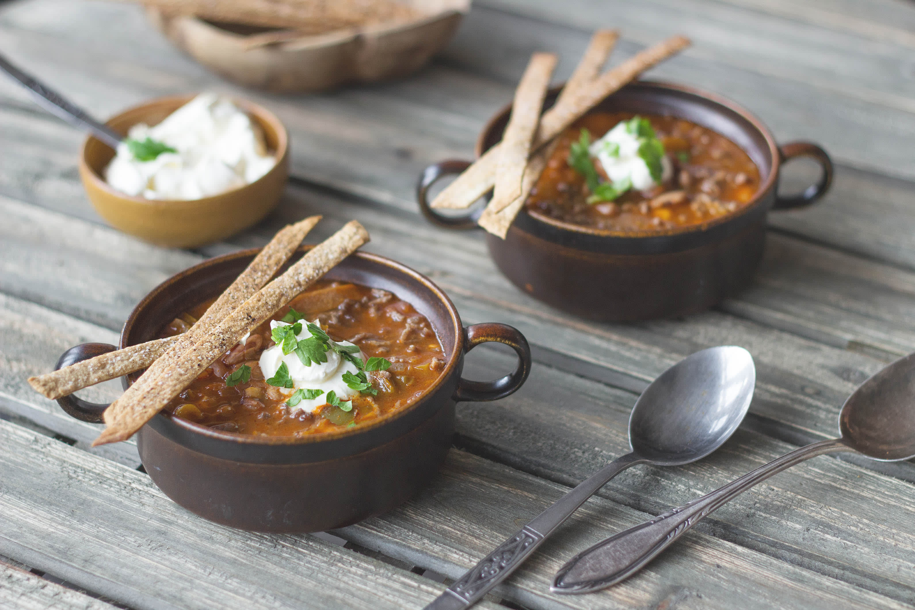 Cold Busting Mexican Soup