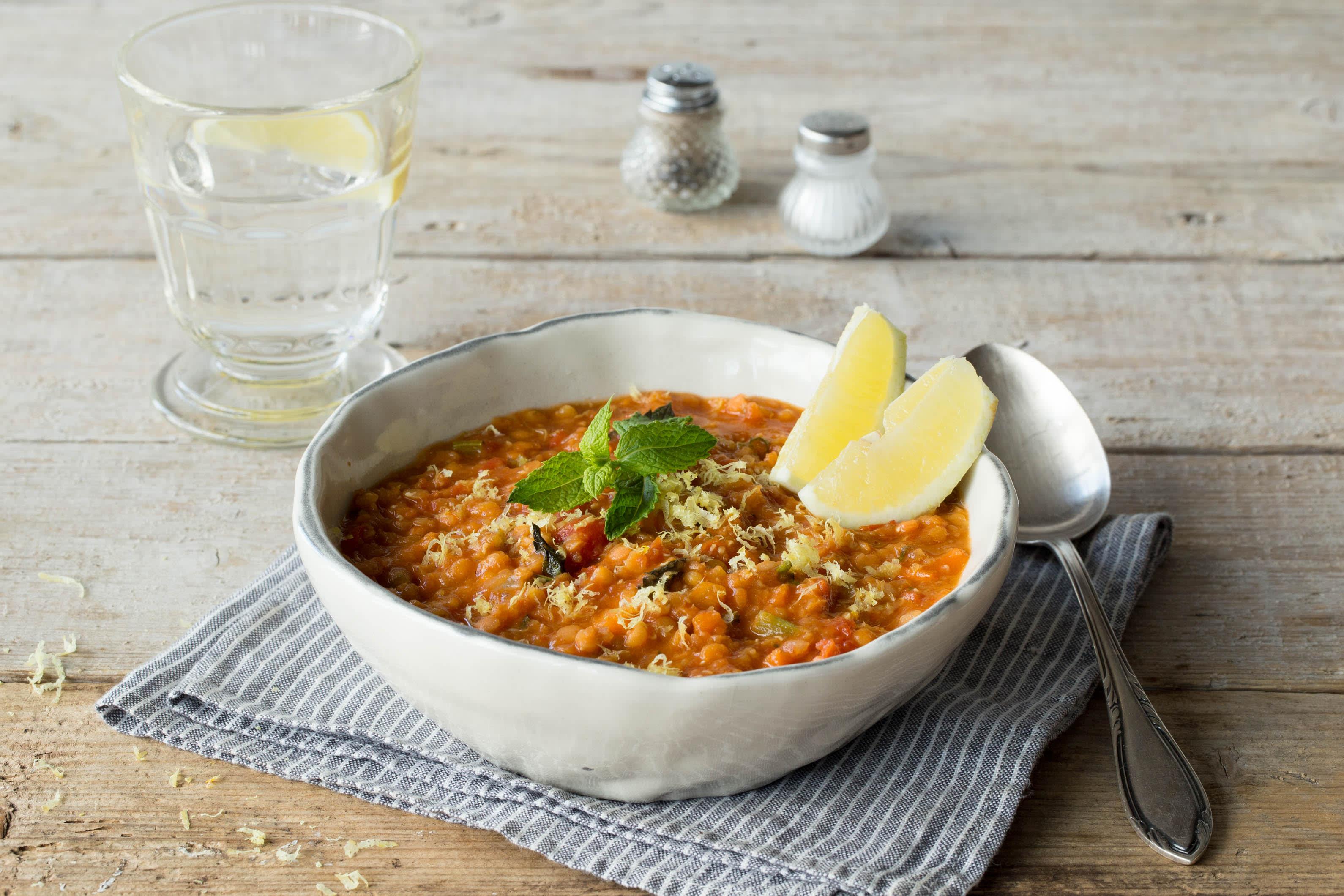 Afghan Red Lentil Soup