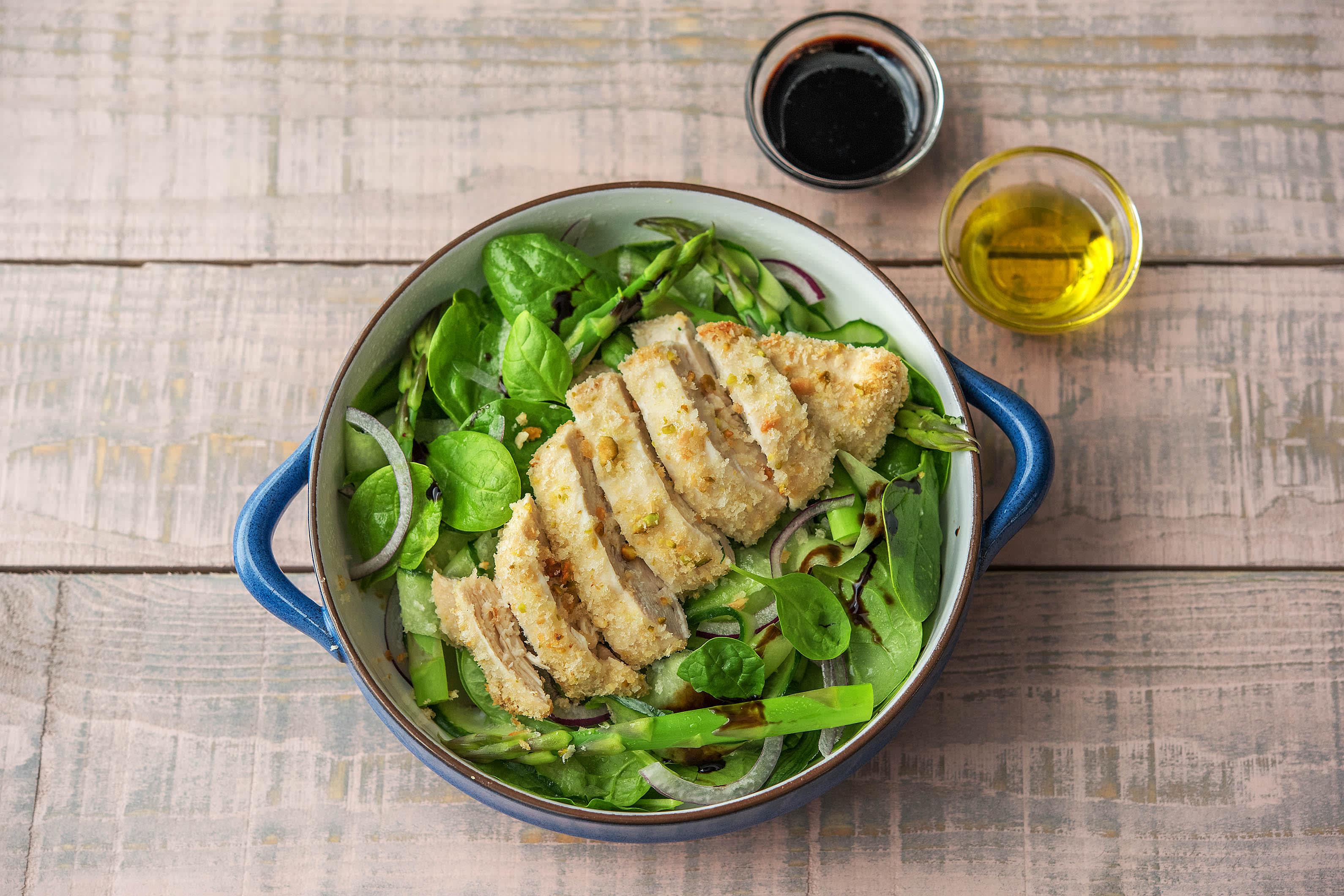 Pistachio Crumbed Chicken