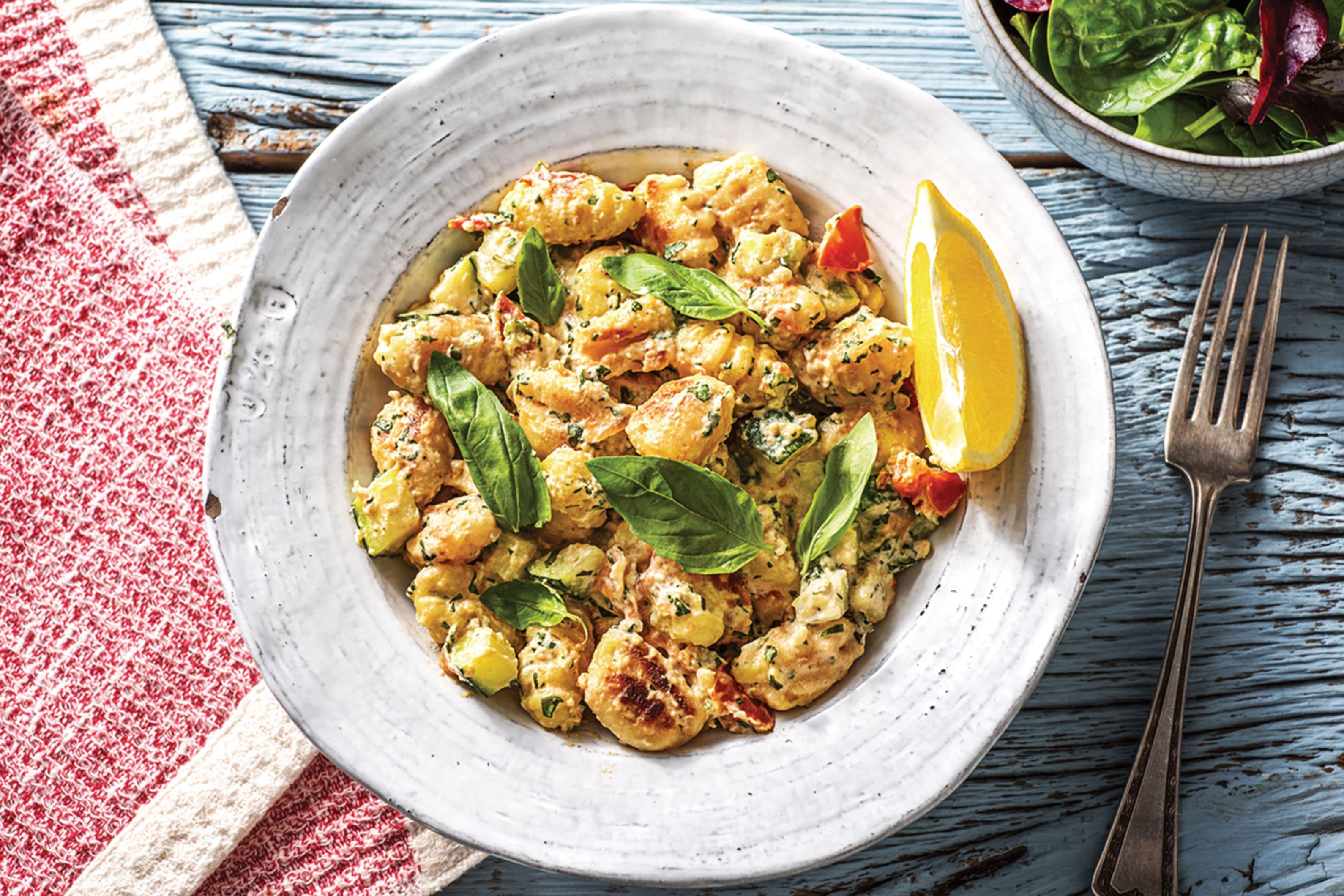 (Vegetarian) Speedy Pan-Fried Gnocchi