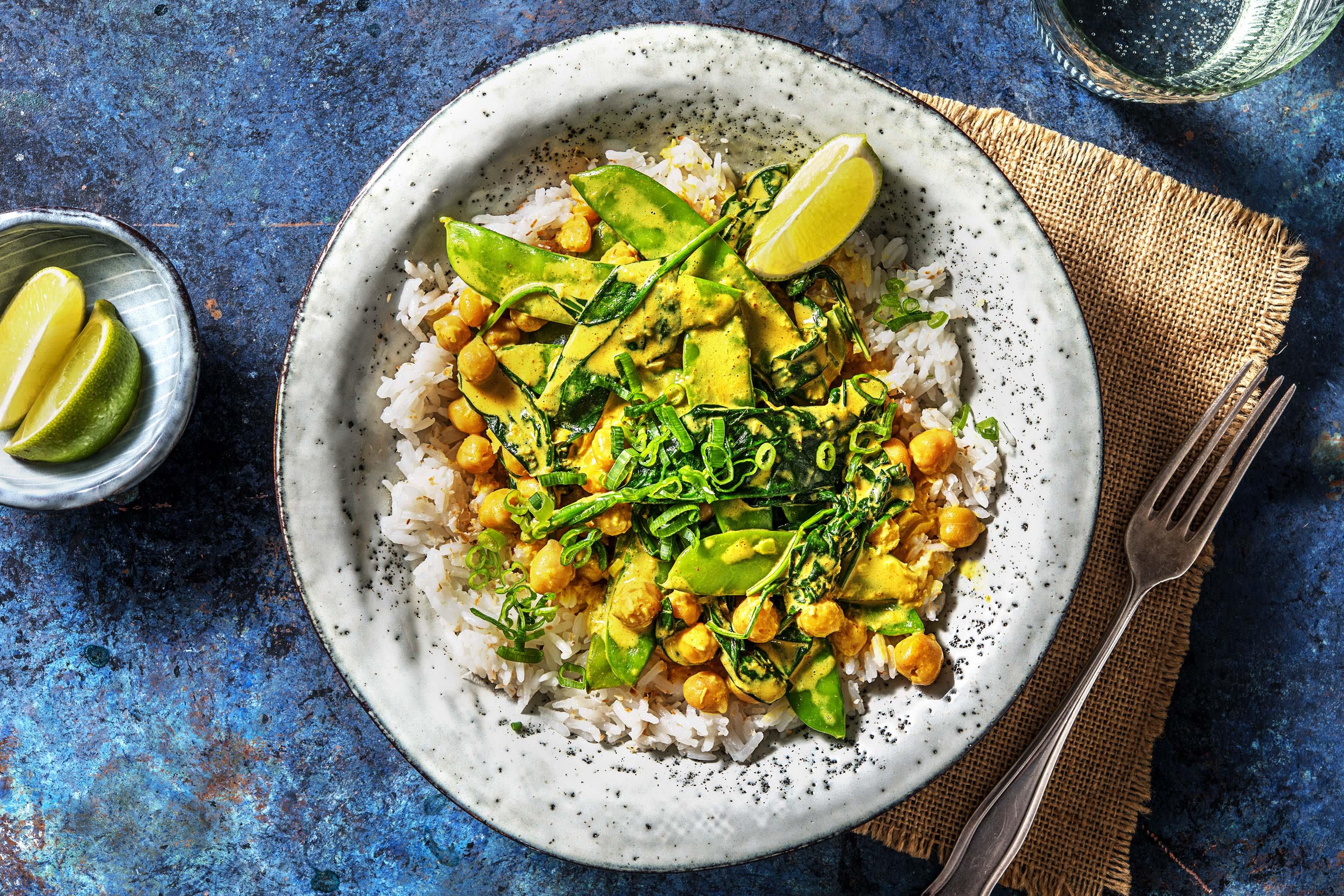 Mildes gelbes Curry