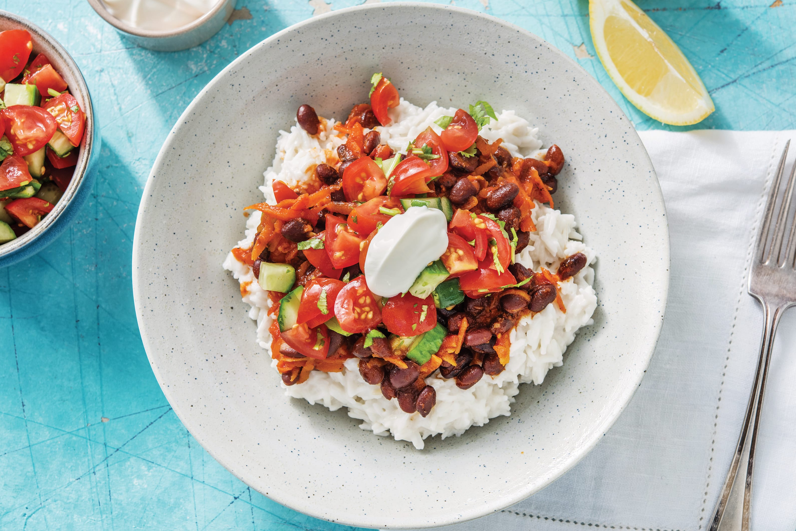 Caribbean Black Bean Chilli