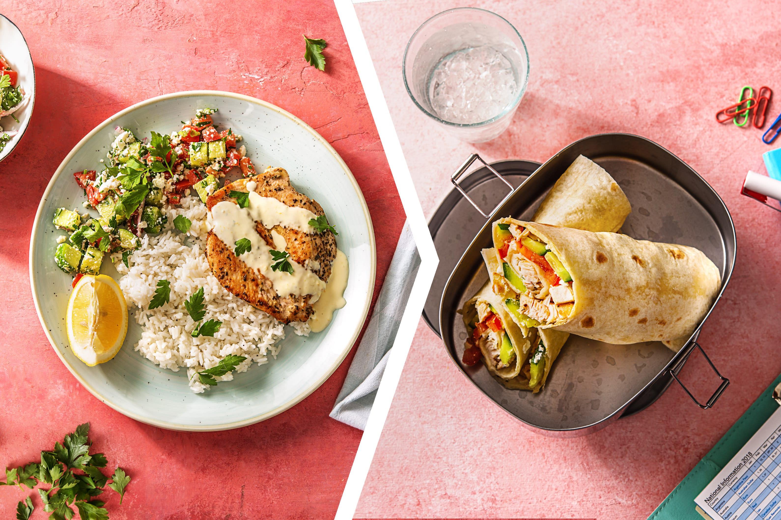 Mediterranean Chicken Dinner