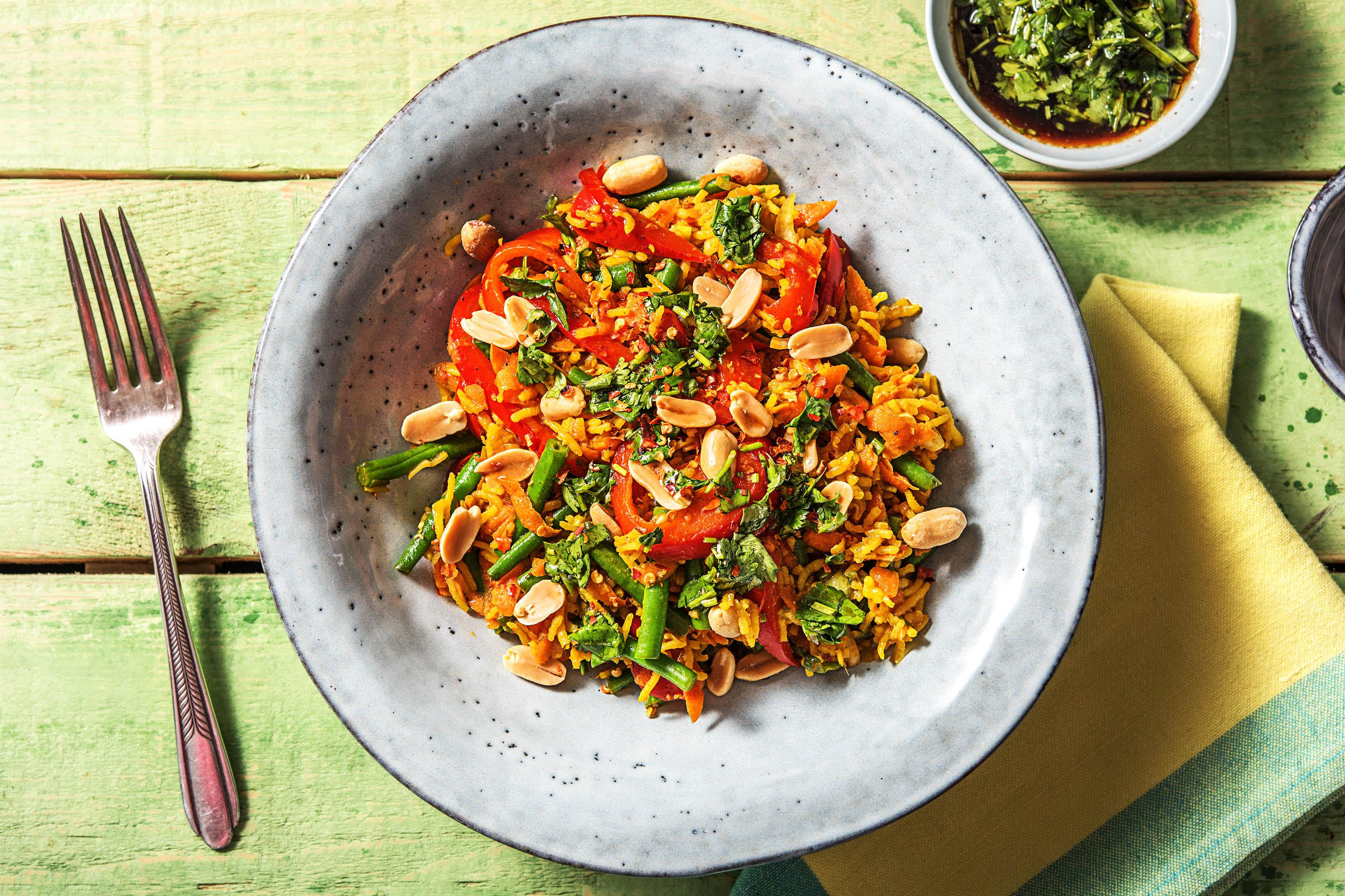 Asian Jewelled Rice (v)